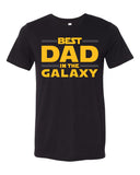 BEST DAD IN THE GALAXY Graphic Triblend Tee