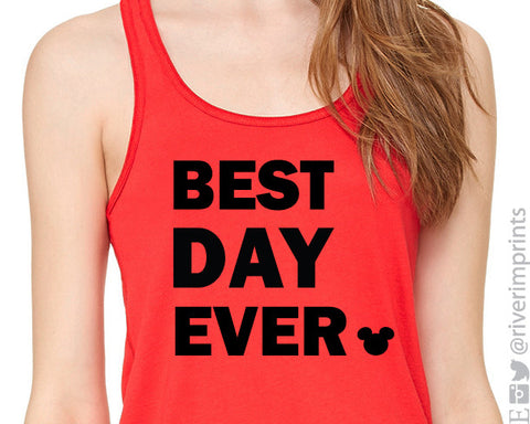 BEST DAY EVER Flowy Vacation Tank