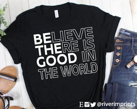 BE THE GOOD IN THE WORLD Blend Tee Shirt