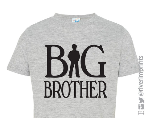 Youth BIG BROTHER, boy brother announcement t-shirt