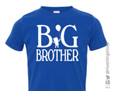 BIG BROTHER Toddler Cotton Tee by River Imprints