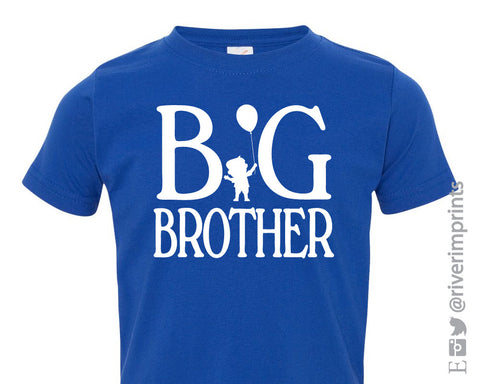 Toddler BIG BROTHER, toddler boy announcement tshirt