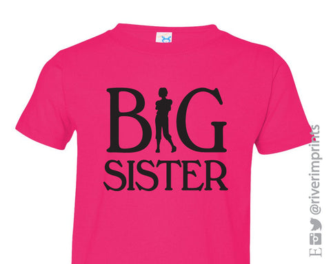 BIG SISTER Youth Cotton Tee River Imprints