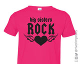 BIG SISTERS ROCK Youth Cotton Tee River Imprints
