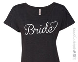 BRIDE HEART Ladies Dolman T-shirt