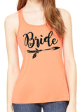BRIDE ARROW Glittery Flowy Tank