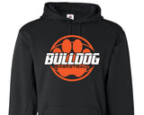 HC14 Bulldog Basketball Youth and Adult Hooded Performance Sweatshirt