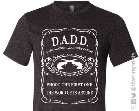 DADS AGAINST DAUGHTERS DATING Graphic Triblend Tee River Imprints