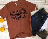DROWN ME IN PUMPKIN SPICE Graphic Triblend T-shirt River Imprints