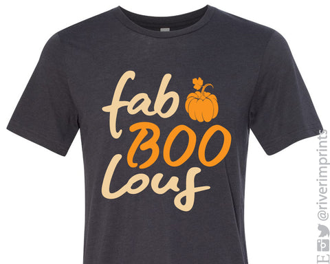 FAB BOO LOUS triblend graphic tee