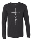 FAITH Long Sleeve Triblend Tee