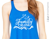 FAMILY CRUISE Flowy Vacation Tank