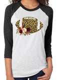FOOTBALL Triblend Sublimation Raglan