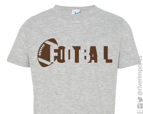 FOOTBALL baby and toddler t-shirt