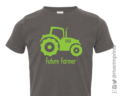 Toddler FUTURE FARMER, baby and toddler t-shirt