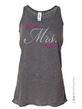 FUTURE MRS ______ Glittery 2-sided Flowy Tank