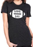 GAME DAY Football Triblend Tee