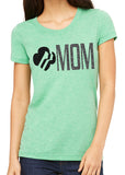 GIRL SCOUT MOM EMBLEM, glittery sparkle tee shirt