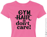 GYM HAIR DON'T CARE Glittery Performance T-Shirt