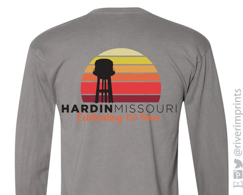 HARDIN MISSOURI 150 YEARS 2-Sided Long Sleeve Triblend Tee