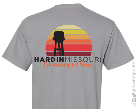 HARDIN MISSOURI 150 YEARS 2-Sided Triblend Tee