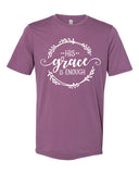 SALE - HIS GRACE IS ENOUGH Graphic Blend Tee Shirt - READY TO SHIP