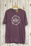 HIS GRACE IS ENOUGH Graphic Blend Tee Shirt