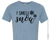 SALE - I SMELL SNOW Graphic Triblend Tee Shirt