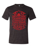 IF IT INVOLVES CAMPFIRES, graphic triblend t-shirt