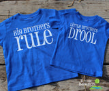 BIG BROTHERS RULE Toddler Cotton Tee