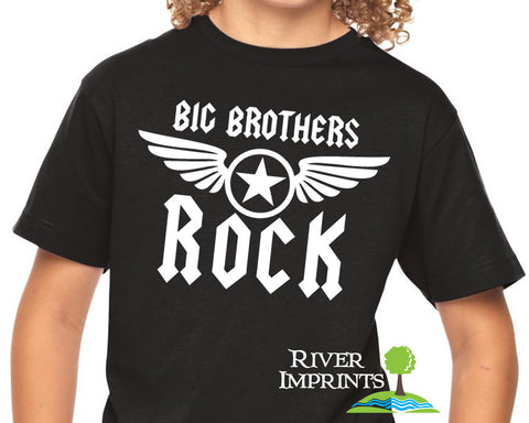 BIG BROTHERS ROCK Youth Cotton Tee River Imprints