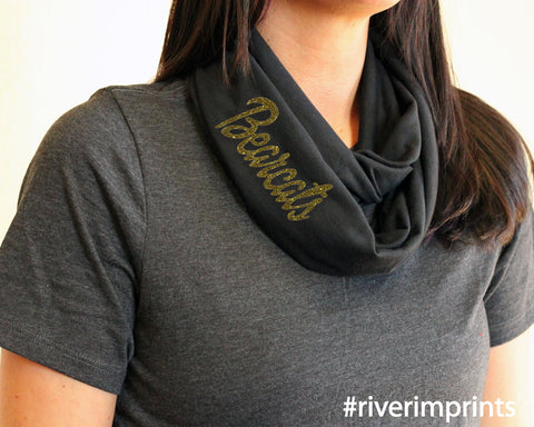 BEARCATS t-shirt infinity scarf, or your choice of mascot