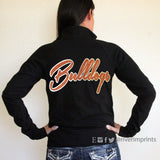 BULLDOG Cadet Jacket, glittery ladies' light-weight jacket, your choice of sparkle color