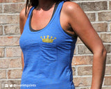 ROYALS Burnout Tank Top with YOUR CHOICE of team name