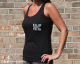 AGGIES Burnout Tank Top with YOUR CHOICE of team name