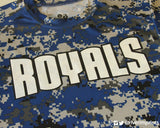 ROYALS Digital Camo Youth Performance Tee