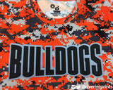 BULLDOGS Youth Digital Camo Performance Tee River Imprints