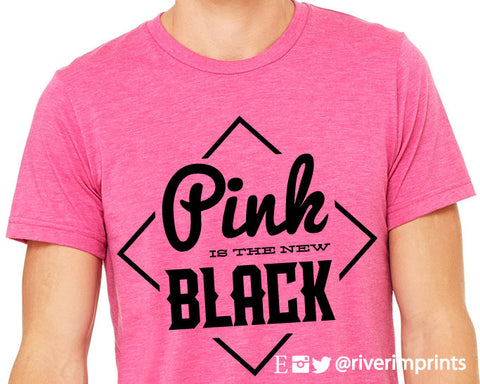 Pink Is The New Black graphic t-shirt