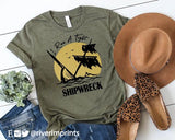 I RUN A TIGHT SHIPWRECK Blend Tee Shirt