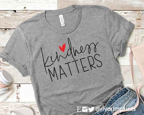 KINDNESS MATTERS Blend Tee Shirt