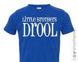 Baby LITTLE BROTHERS DROOL, baby boy bodysuit or t-shirt