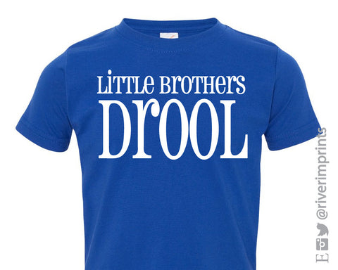 LITTLE BROTHERS DROOL Cotton Onesie or Tee