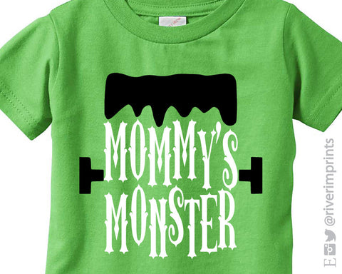 MOMMY'S MONSTER toddler tee