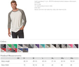 WILD AT HEART Triblend Sublimation Raglan