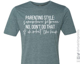 PARENTING STYLE Graphic Blend Tee Shirt