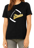 PIRATES FOOTBALL Glittery Cotton Tee