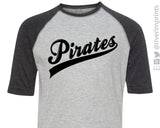 PIRATES Youth Blend Raglan