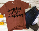 PUMPKIN SPICE EVERYTHING Graphic Triblend Tee