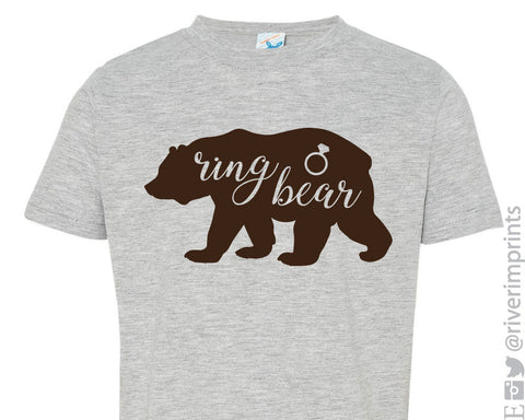 RING BEAR graphic toddler/youth t-shirt