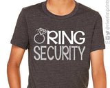 RING SECURITY wedding toddler/youth t-shirt